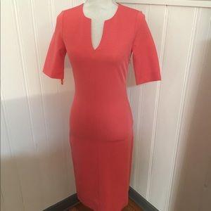Diane Von Furstenburg Coral Dress Size 6